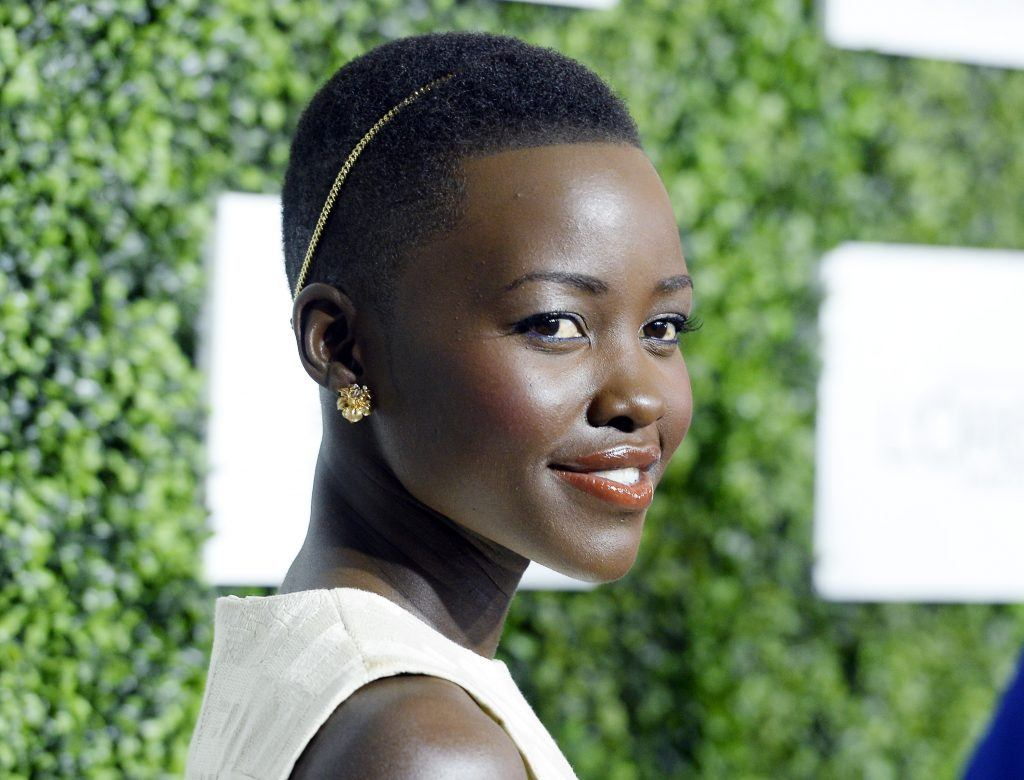 Lupita Nyong'o attends 7th Annual ESSENCE Black Women In Hollywood Luncheon February 27, 2014 in Beverly Hills, California.