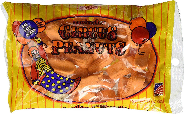Marshmallow Circus Peanuts