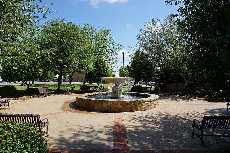 McKinney, Texas fountain