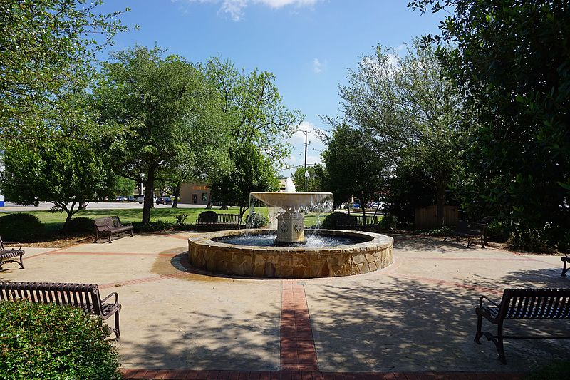 McKinney, Texas fountain