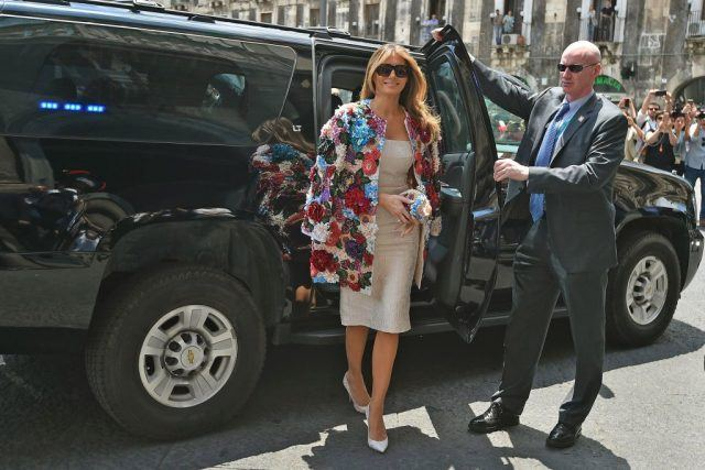 Is Melania Trump Sending a Secret Message to Donald Trump with Her Expensive Designer Outfits?