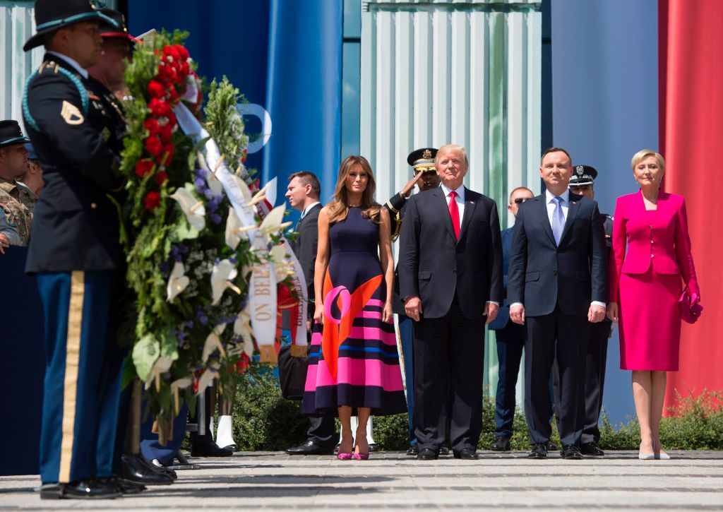 Melania Trump in Poland