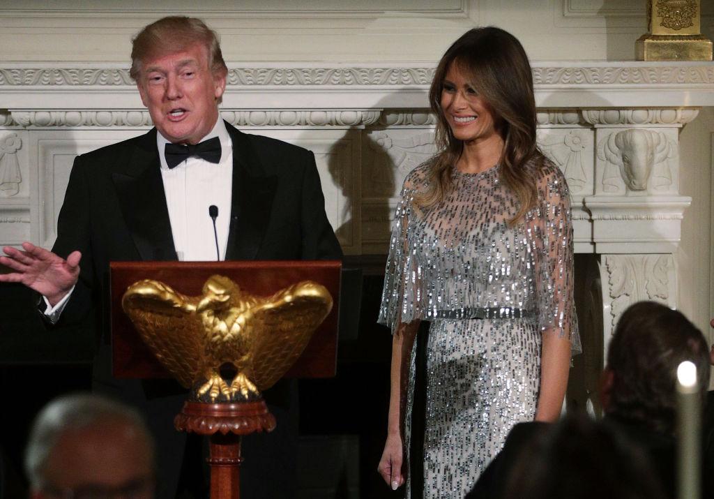 Melania Trump at White House Historical Association