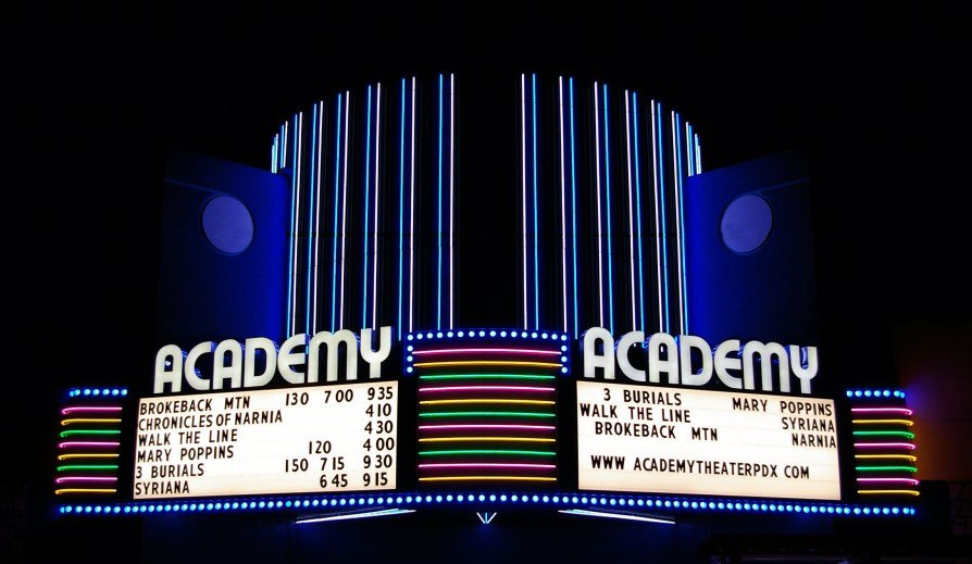 Academy Theater in Montavilla, Portland