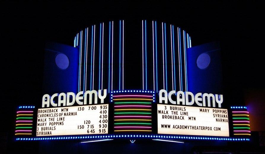 Academy Theater in Montavilla, Portland