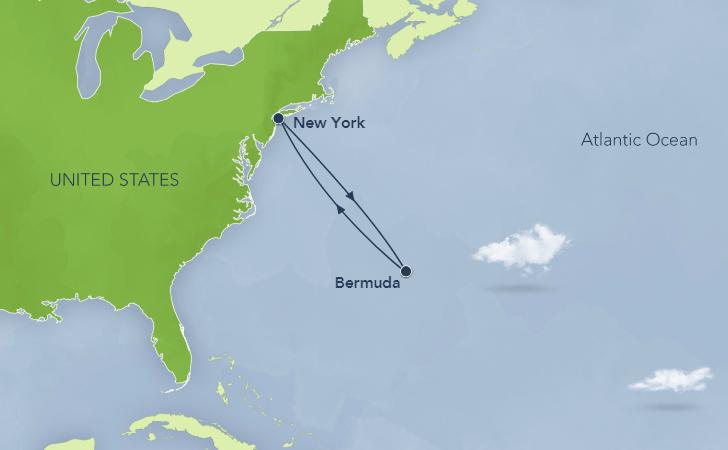 New York to Bermuda