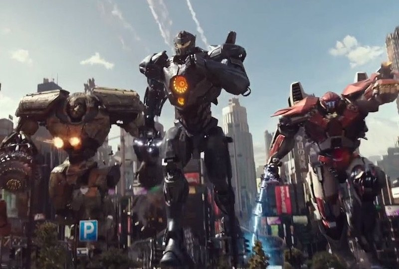 A team of Jaegers in Pacific Rim: Uprising