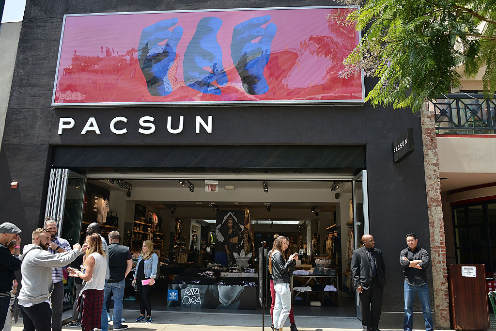 If you purchased your items in a PacSun store you must return them to one of our stores. Please visit Return a Purchase Made in a Store. To return an order placed online, see below. Online Order Return Options. If you want to return an order you placed online, and it's still within 30 days of purchase, you have two options.