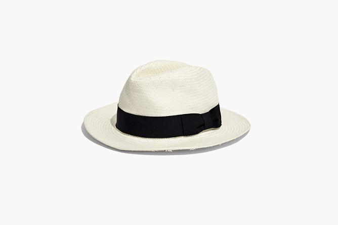 Madewell panama hat