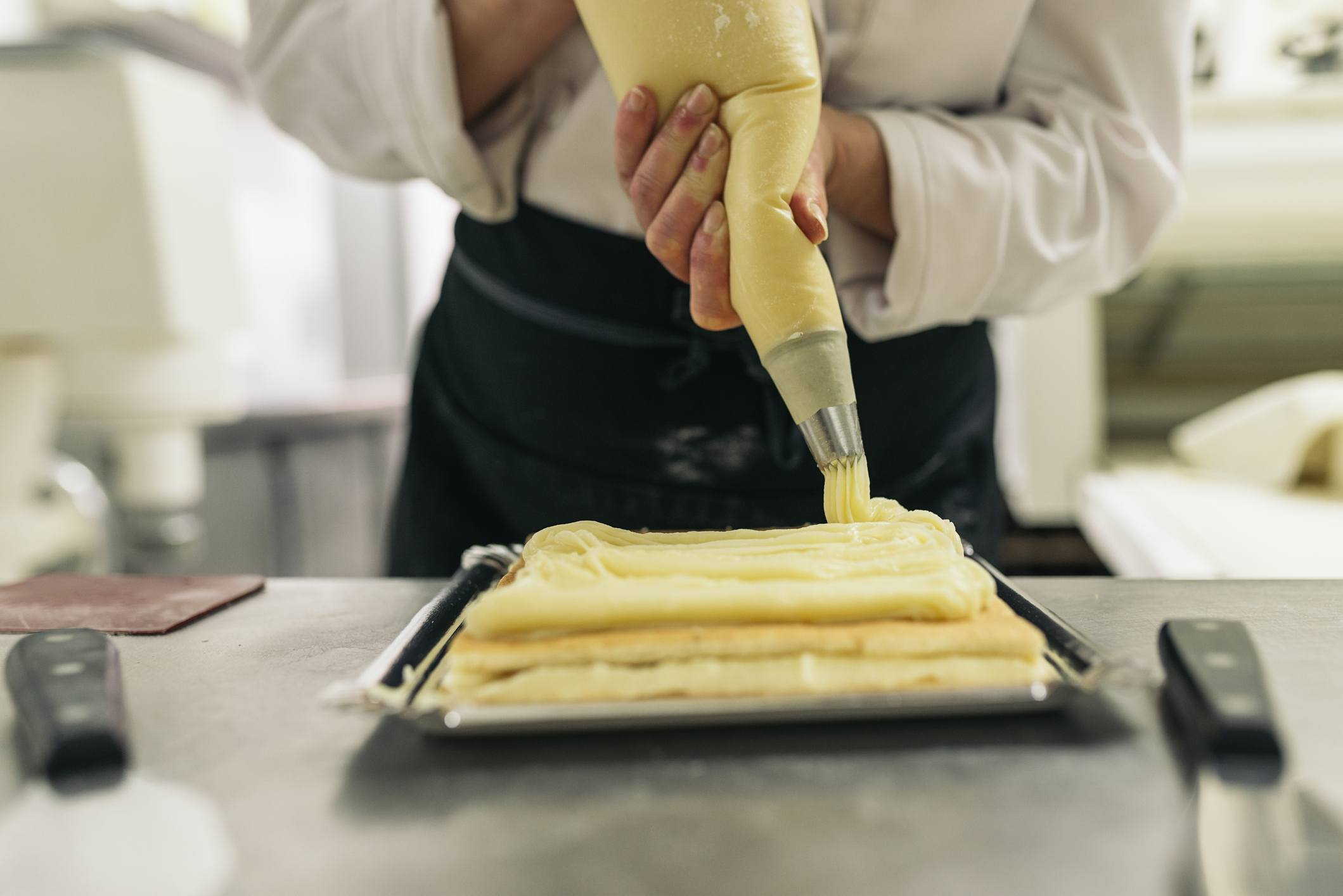 Pastry bag chef