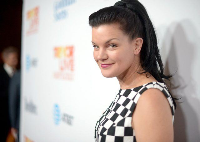 Pauley Perrette on a red carpet in 2016.