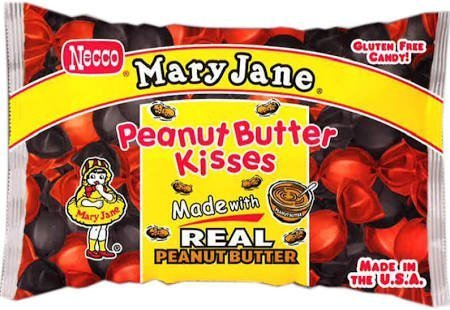 Peanut Butter Kisses Candy