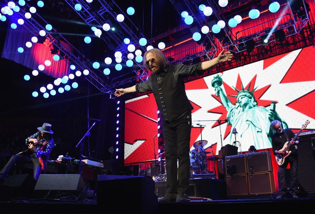 Tom Petty on April 25, 2017 in Nashville, Tennessee