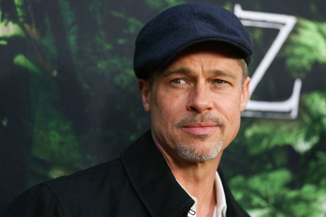 Brad Pitt at the premiere of The Lost City of Z.