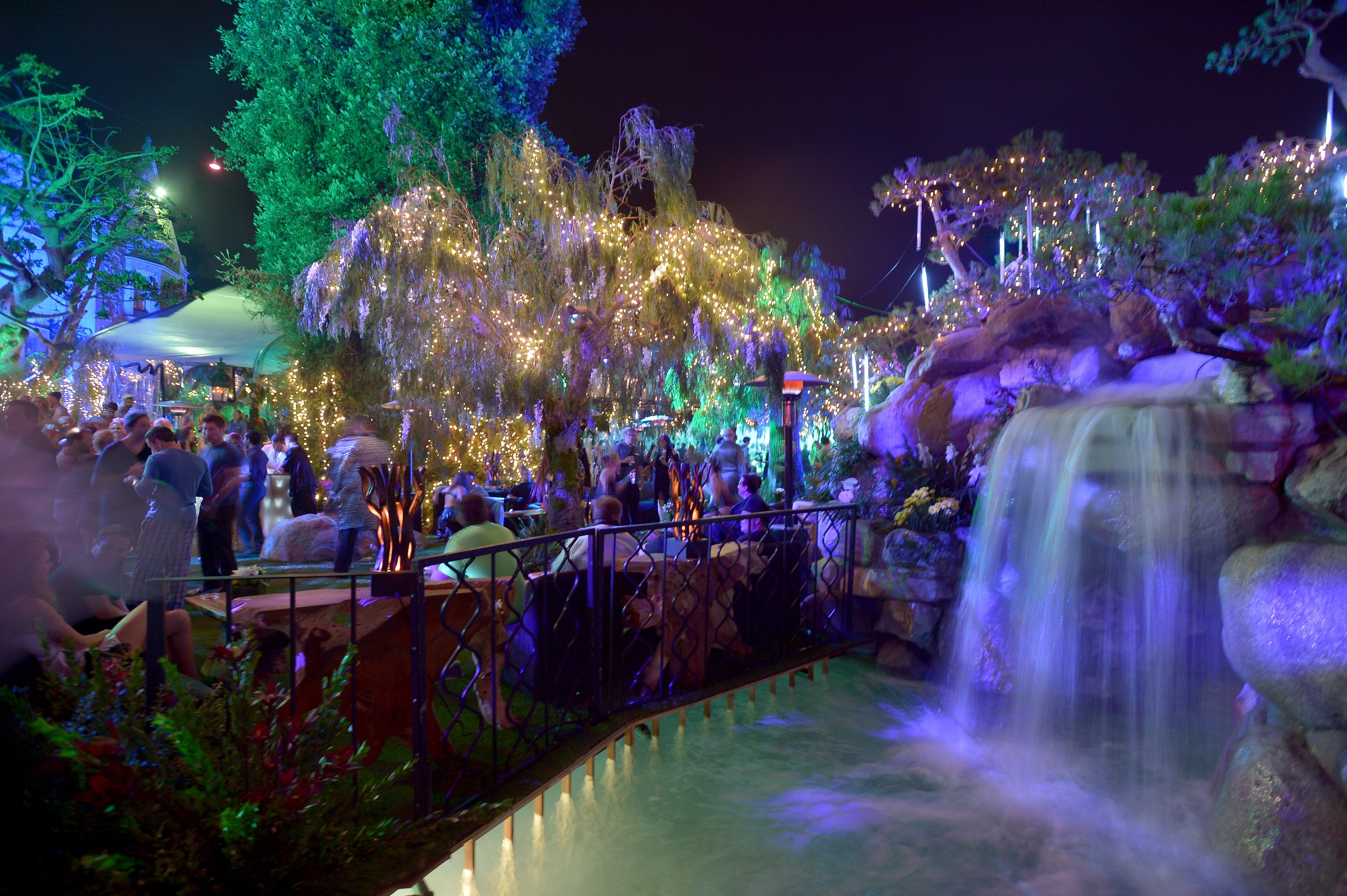 Playboy mansion party