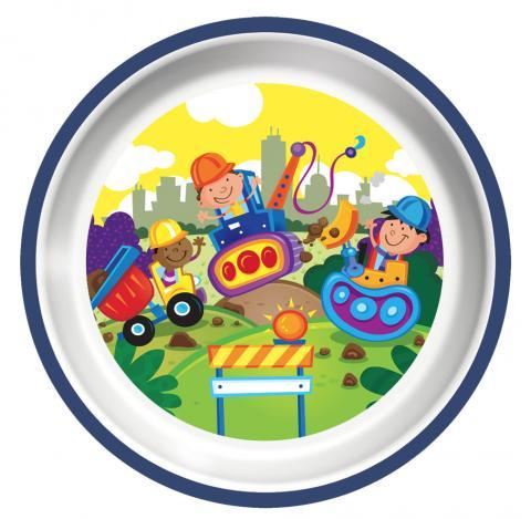 Playtex plastic plate