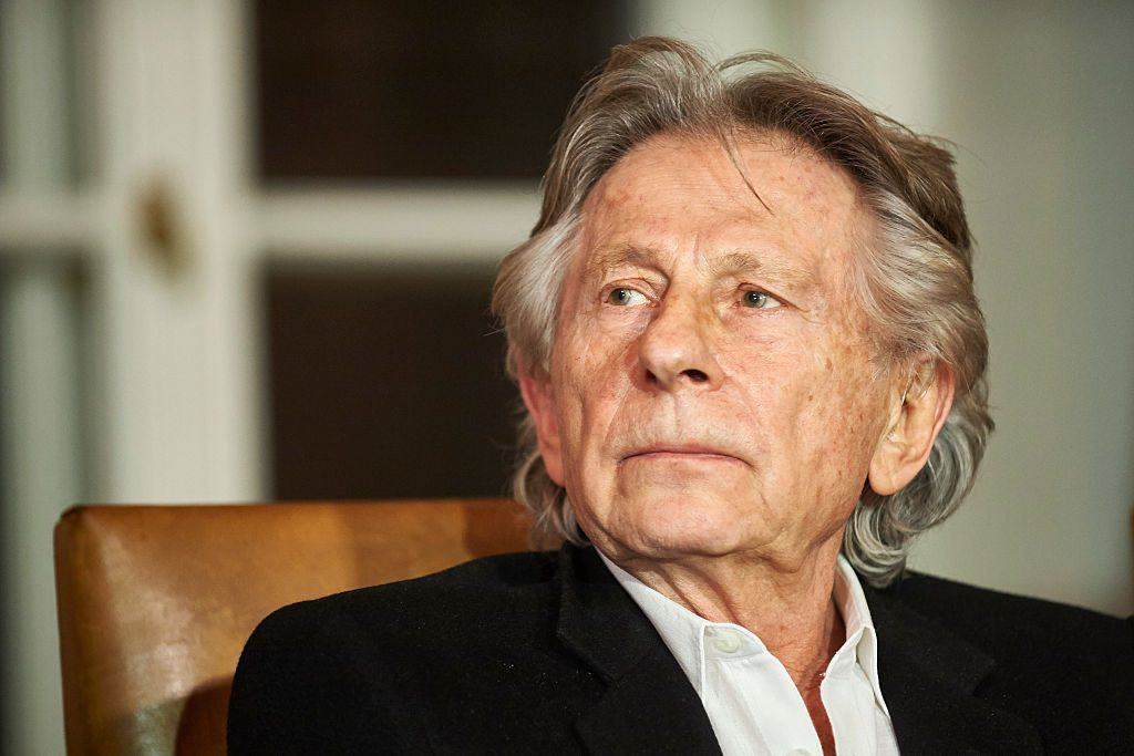 KRAKOW, POLAND - OCTOBER 30: French-Polish film director Roman Polanski is seen during a press conference at the Bonarowski Palace Hotel on October 30, 2015 in Krakow, Poland.