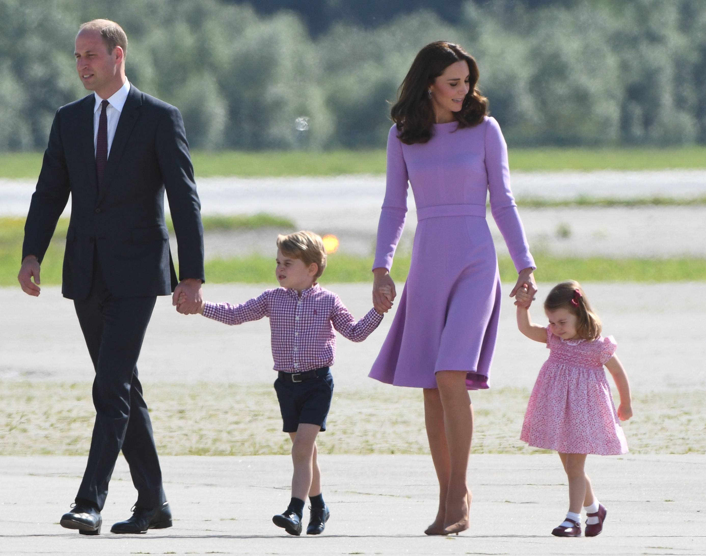 Prince William, Kate Middleton, and their kids