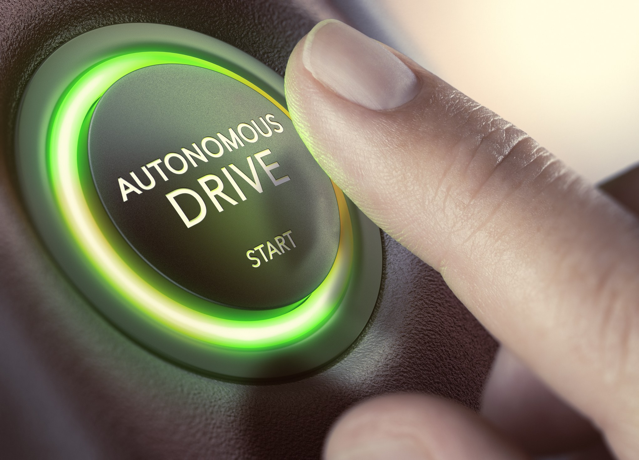 Self-driving button