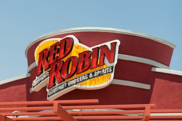 Red Robin sign