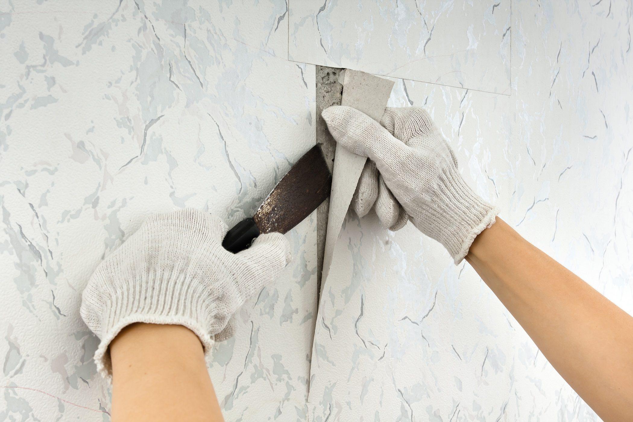 Removing wallpaper