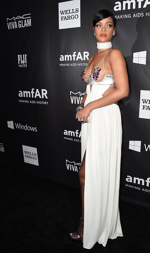 Rihanna AmfAR