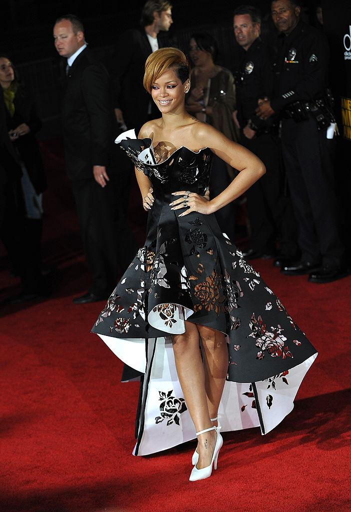 Rihanna at the AMA's