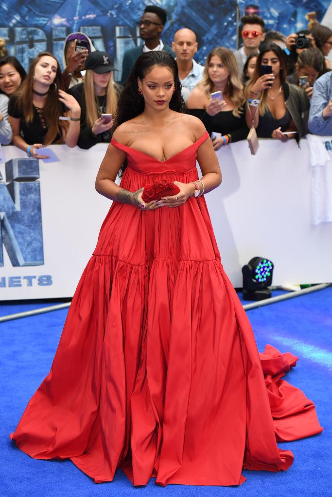 Rihanna Valerian Premier