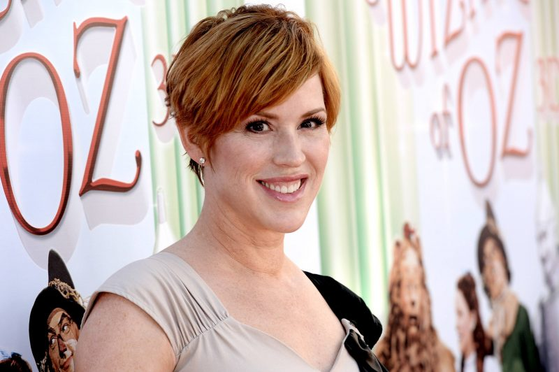 "Molly Ringwald arrives at the premiere of Warner Bros. Home Entertainment's ""The Wizard Of Oz"" 3D And The Grand Opening Of The New TCL Chinese Theatre IMAX"