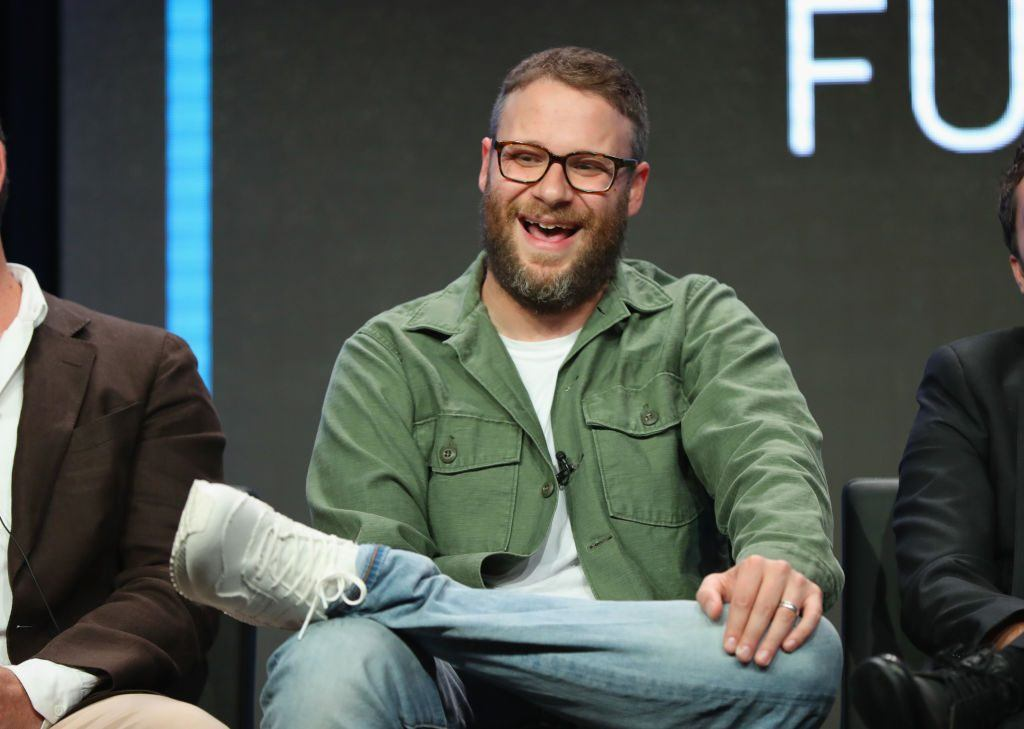 Seth Rogen at the Summer TCA at The Beverly Hilton Hotel on July 27, 2017 in Beverly Hills, California. (Photo by Joe Scarnici/Getty Images for Hulu)
