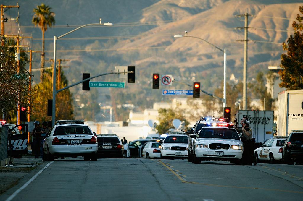 police in San Bernardino
