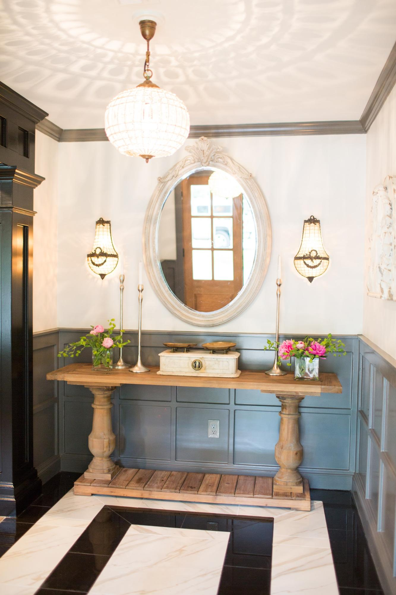 Fixer Upper house entry way