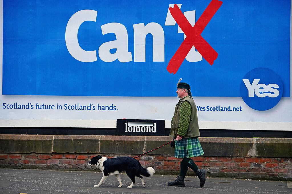 Scotland Independence sign