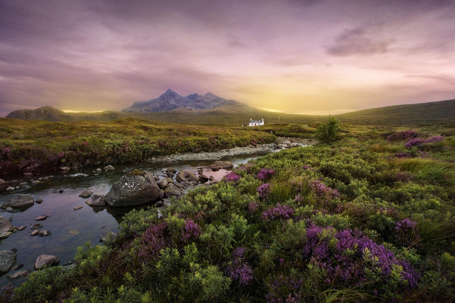 Sligchan river Scotland