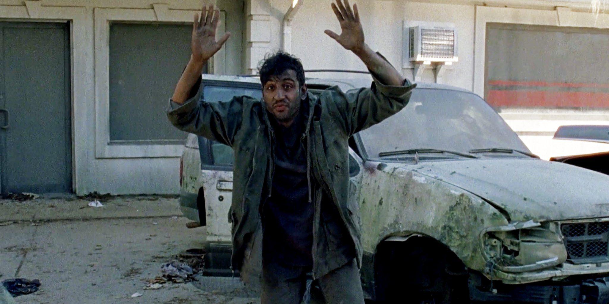 Siddiq in The Walking Dead