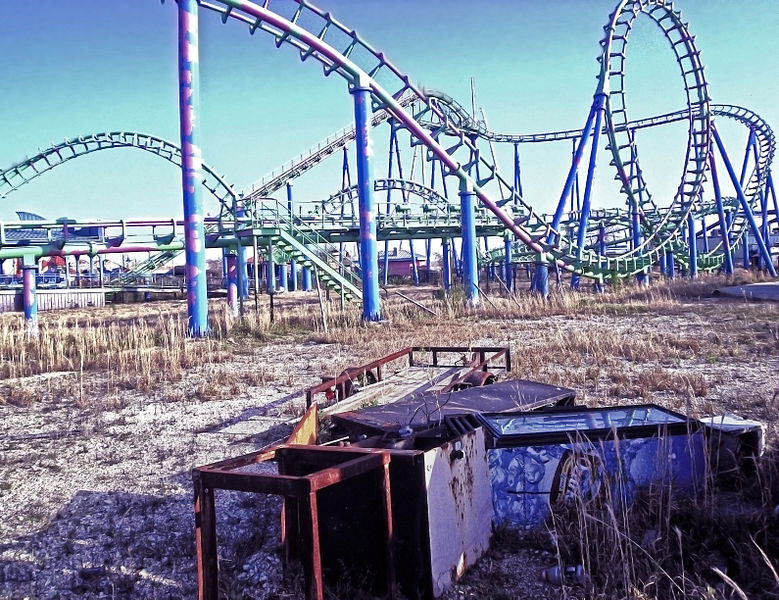 Haunting Photos of the 10 Creepiest Abandoned Amusement Parks