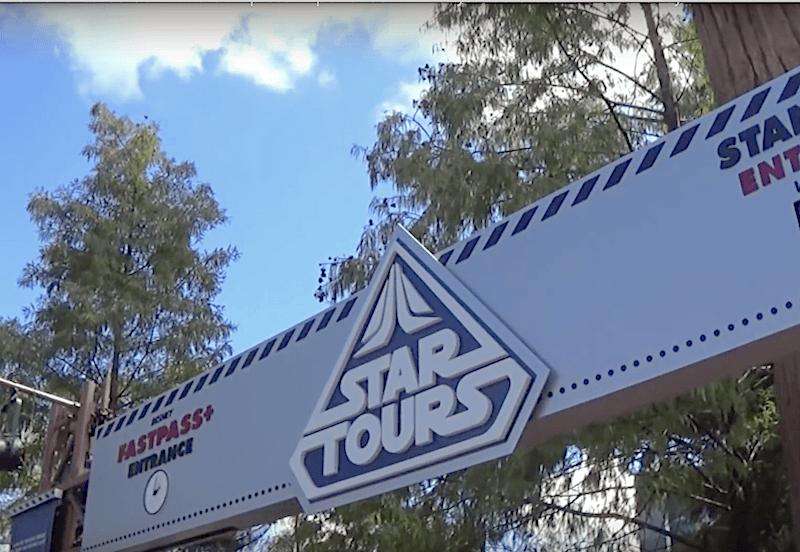 Star Tours entrance