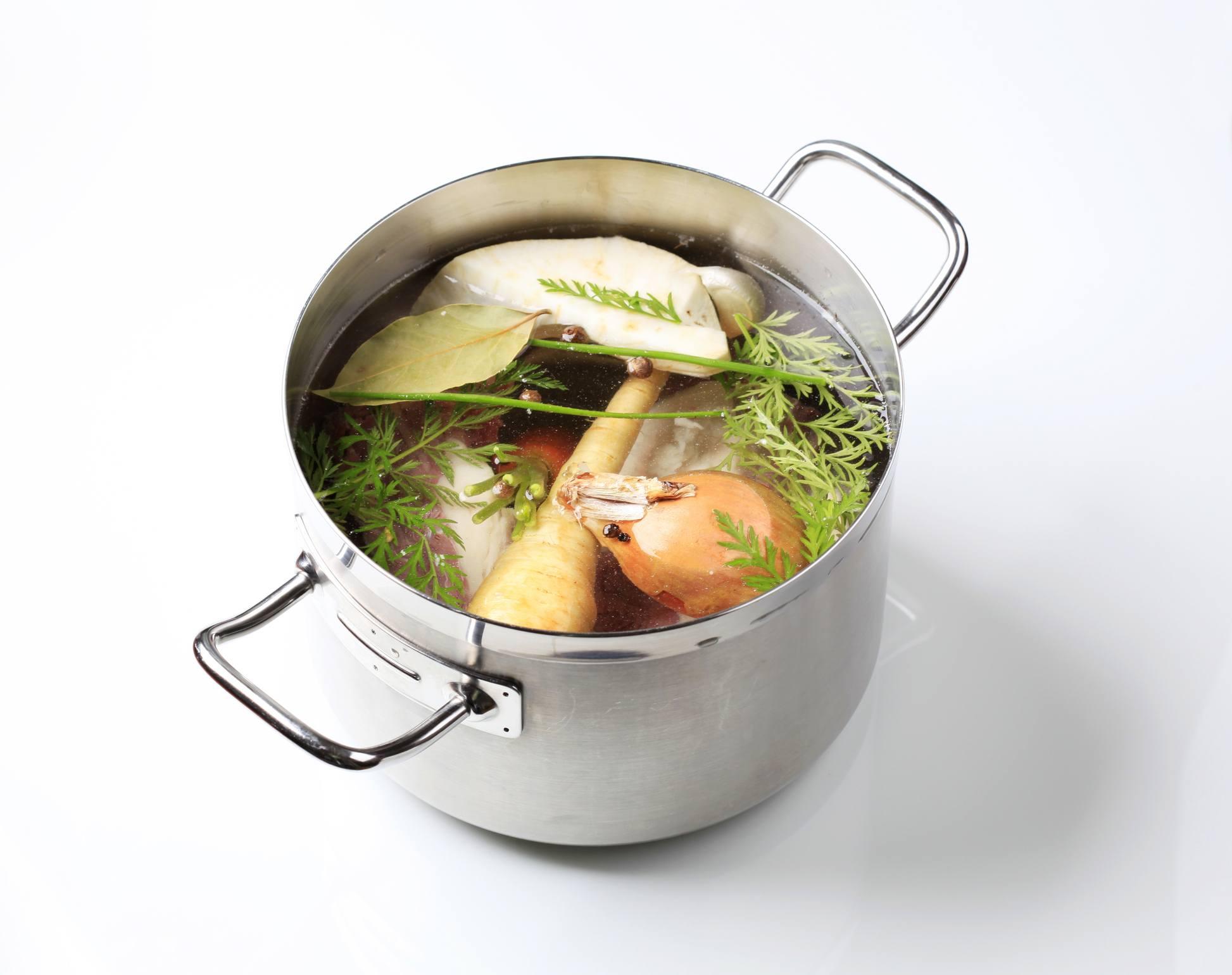 Stock pot soup