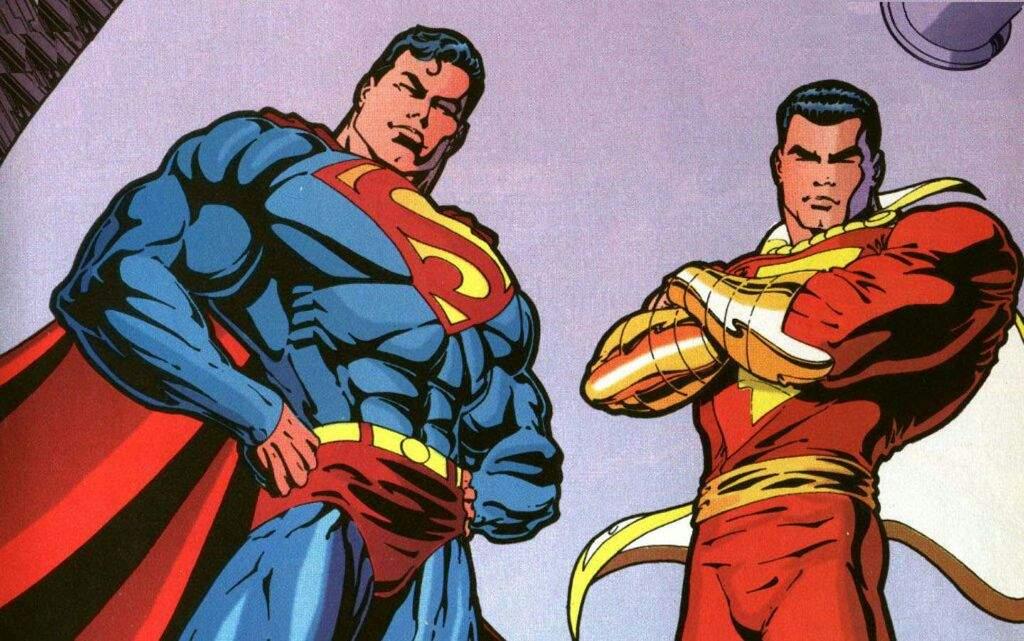 Superman and Shazam