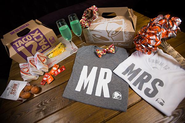Taco bell wedding merchandise