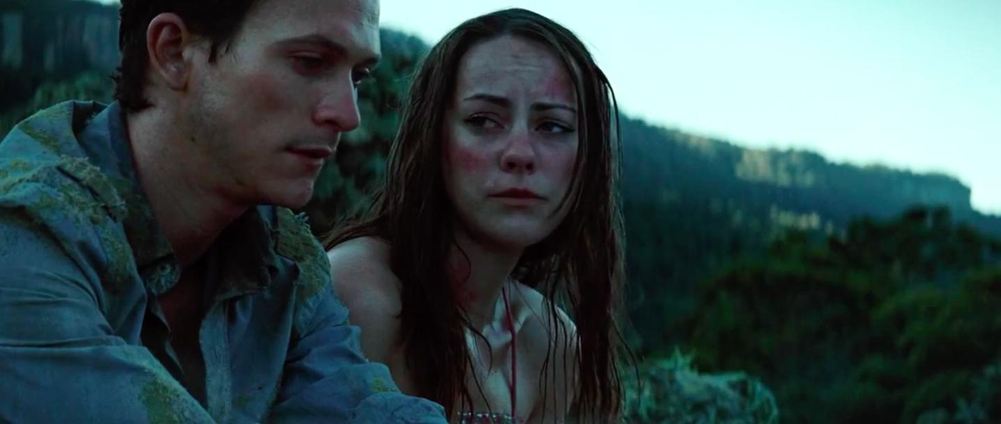 Jonathan Tucker and Jena Malone in The Ruins