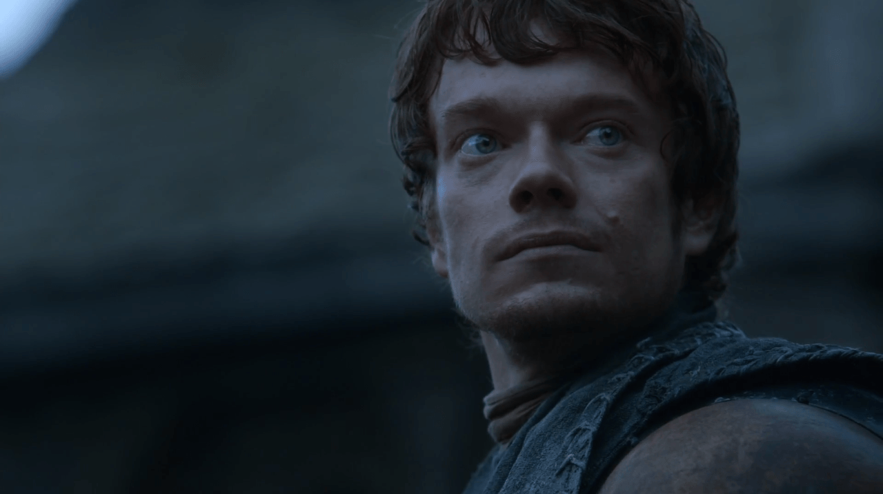 """Theon Greyjoy in """"A Man Without Honor"""""""