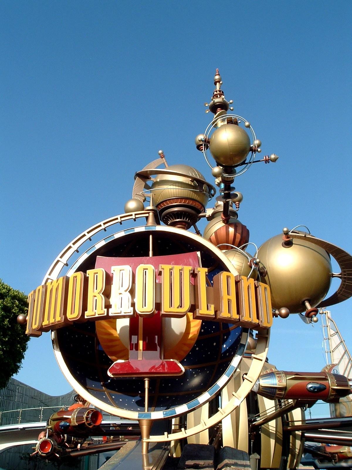 Tomorrowland Entrance