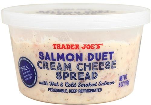 Salmon Duet cream cheese spread