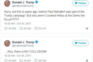 The Funniest Twitter Reactions to The Manafort Indictment