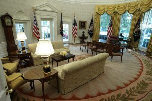 This Is the First Thing Donald Trump Changed in the Oval Office After Obama Moved Out