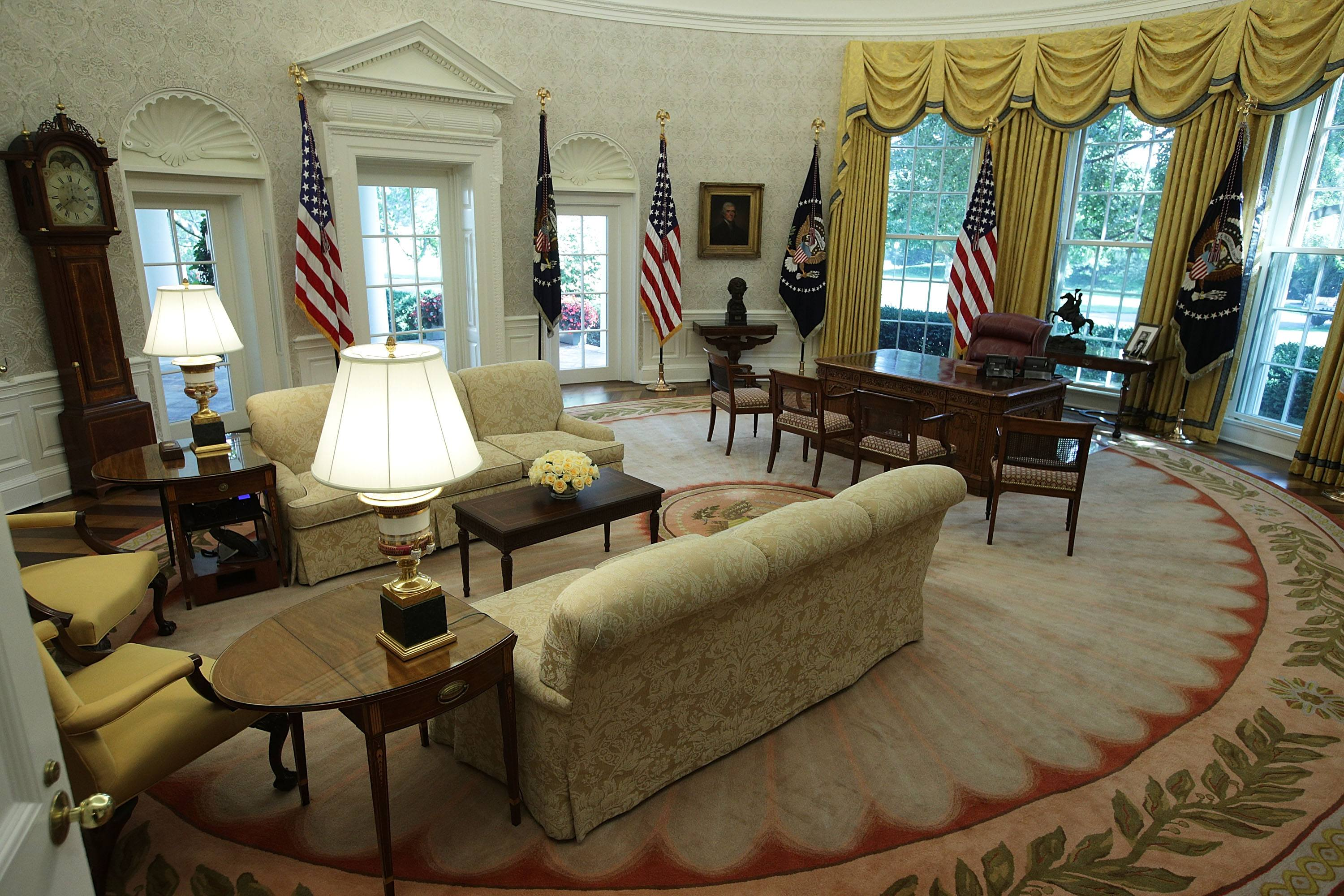 white house floor1 green roomjpg. White House Offers Glimpse Of Recently Finished Renovations Floor1 Green Roomjpg