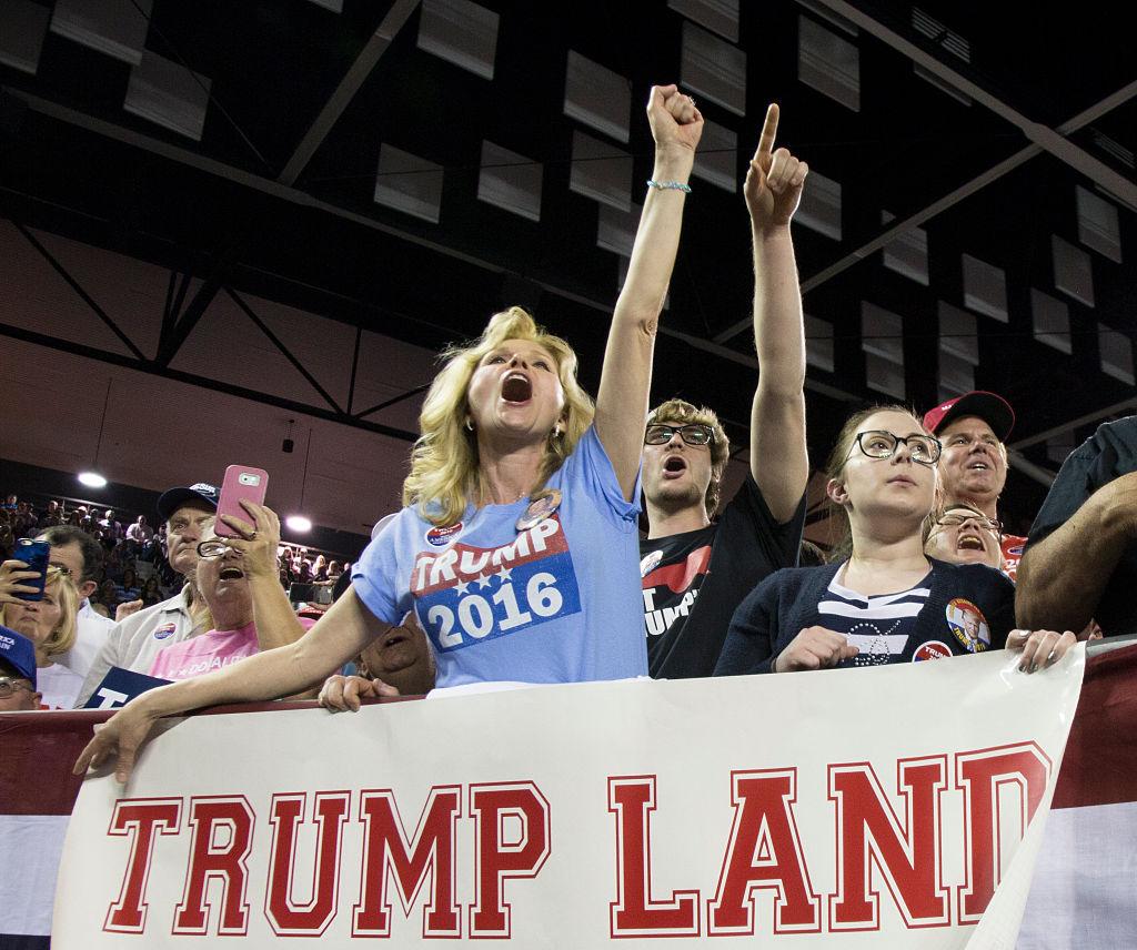Trump supporters Georgia