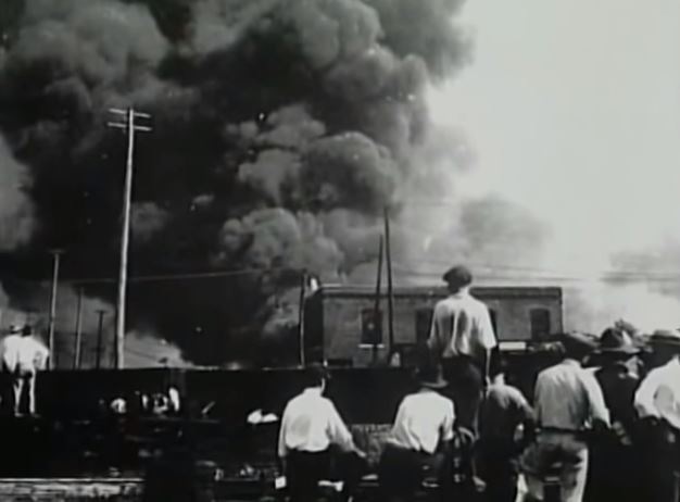 A horrifying image from the Tulsa race riots.