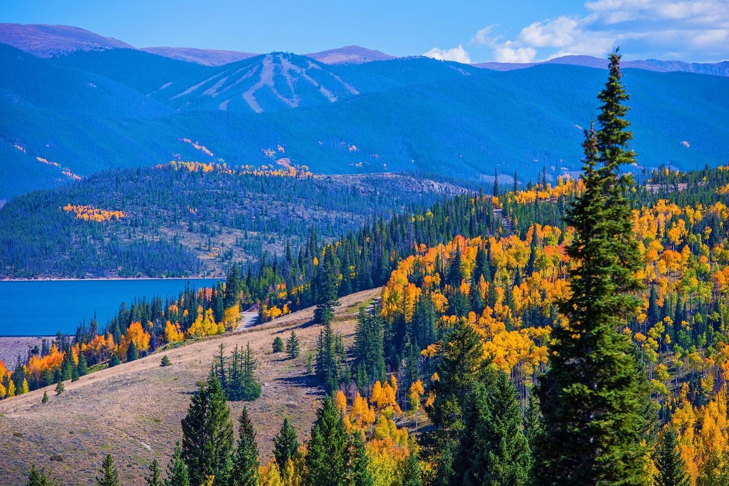 Coloardo mountain scenery